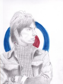 Paul Weller - 9x12 pencil, watercolor